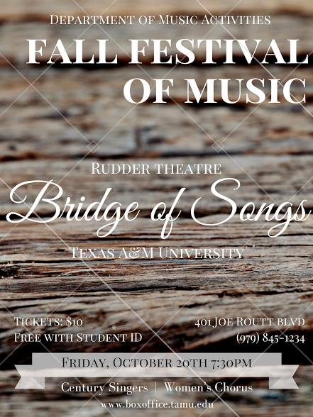 Fall Festival of Music: Bridge of Songs